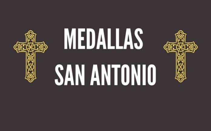 Medallas de San Antonio de Padua
