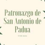 Patronazgo de San Antonio de Padua