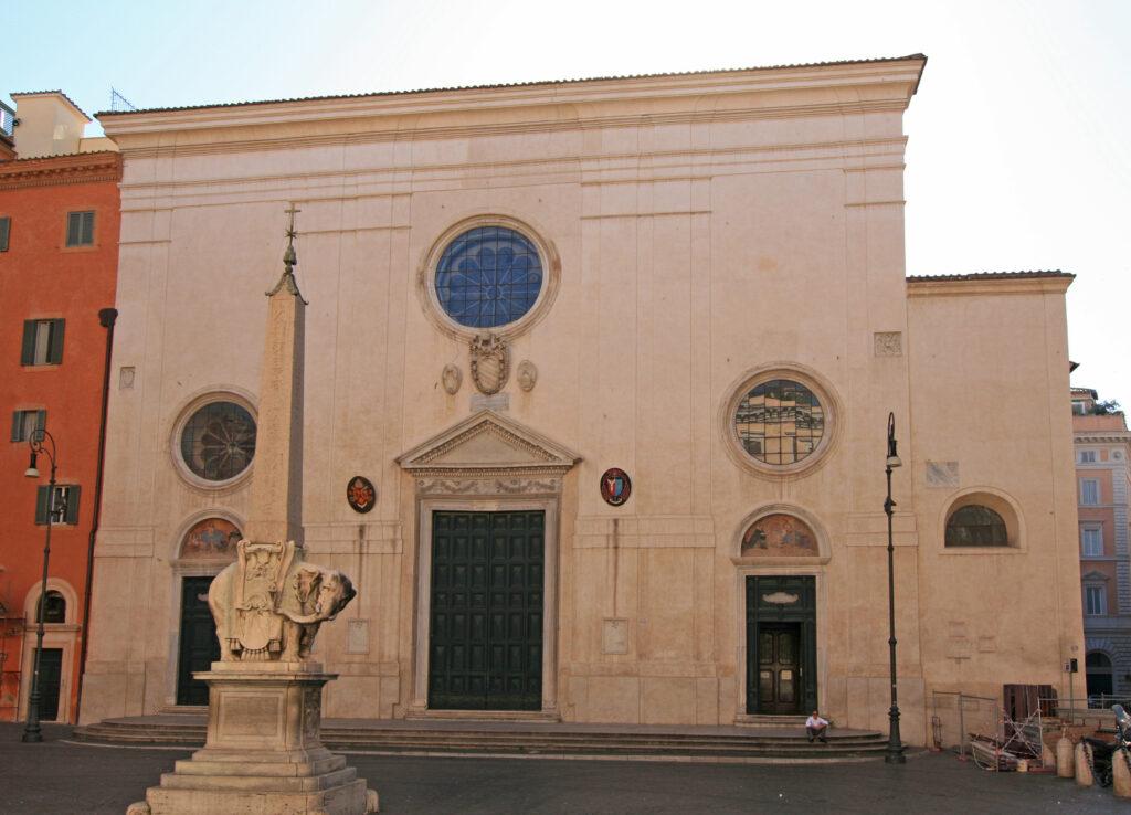 basílica de Santa María sopra Minerva